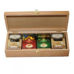 Чай Ассорти 300гр.в деревянной шкатулке №330