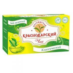 Чай Зеленый байховый 20 пак*1.5 гр №10