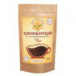 Чай Черный гранулированный 80г Дой Пак № 17