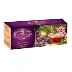 Чай Черный с душицей и чабрецом 25 пак*1.8 гр №6