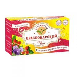 Чай Черный с Шиповником и душицей 20 пак*1.5 гр №11