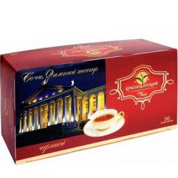 Чай Краснодарский черный байховый 50пак*2гр в/с №340