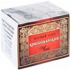 Чай Краснодарский черный байховый гран.50гр. 1с №73