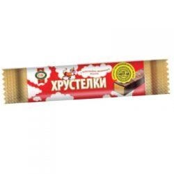 Хрустелки с шоколадно-молочным вкусом Т (глазированные) 1/30