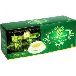 Чай Краснодарский зеленый байховый 25пак.*2гр в/с №741