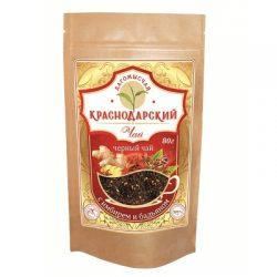 Чай Черный с имбирем и бадьяном 80г Дой Пак № 25